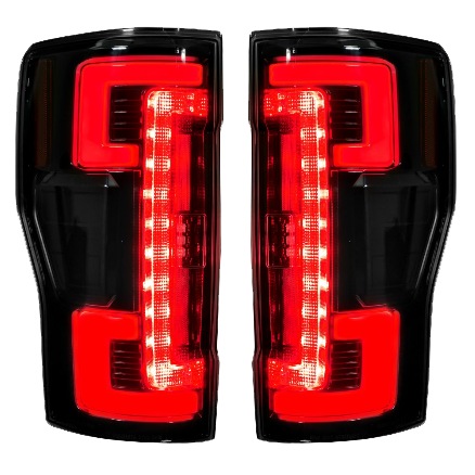 2017 Ford Superduty Led Tail Lights Smoked Lens