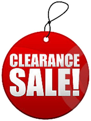 Hot Deals & Clearouts